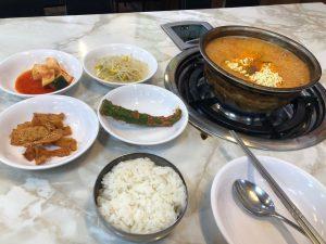 korean kimchi meal